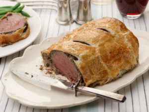Nancy Fuller's Beef Wellington for THANKSGIVING/BAKING/WEEKEND COOKING, as seen on Farmhouse Rules, Game Night In